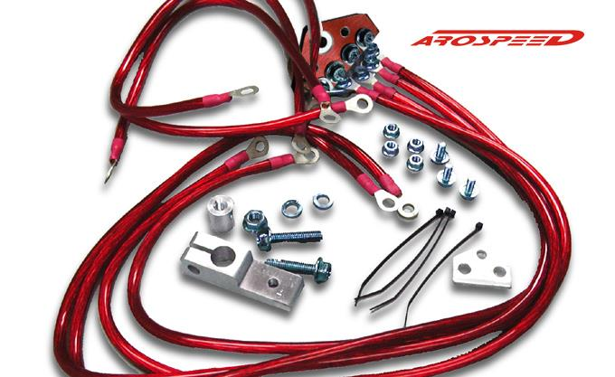 Arospeed 10mm Grounding Wire (Red)