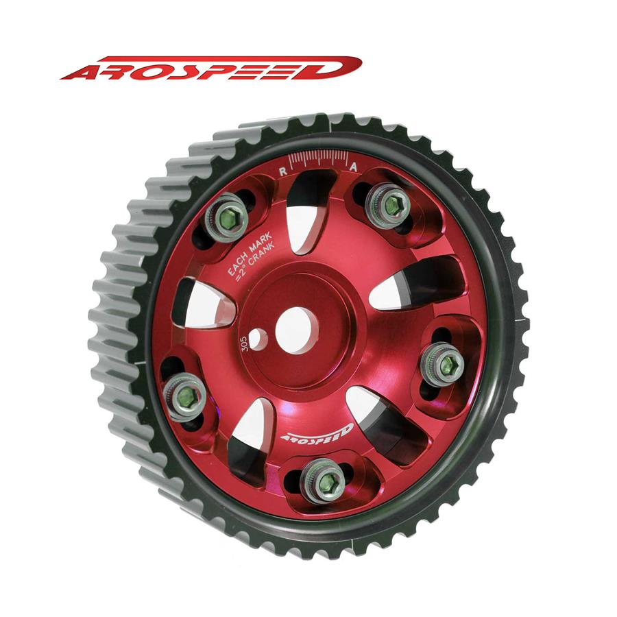 AROSPEED Adjustable Cam Pulley PWR16 (Red)