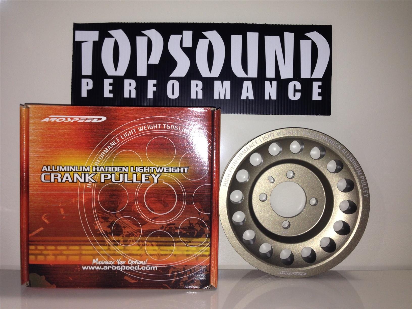 Arospeed Crank Pulley Evo 4-8