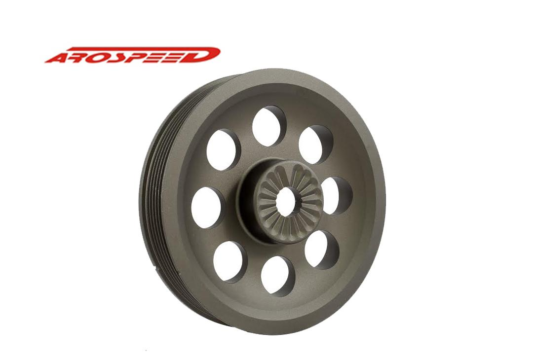 AROSPEED Crank Pully Volkswagen Golf Gti Mk6 Harden Lightening