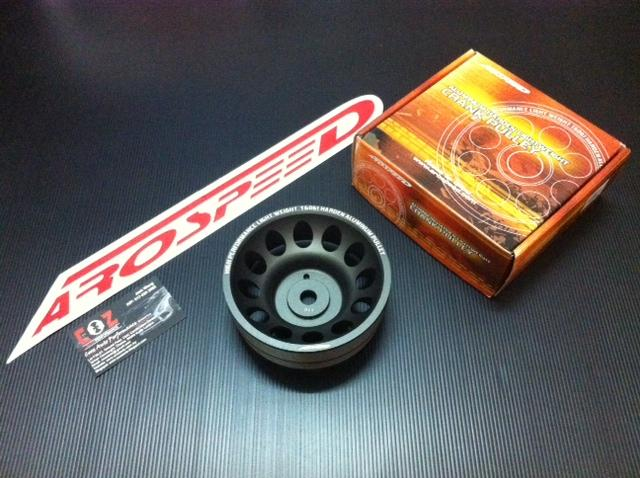 AROSPEED HARDEN LIGHTEN ALUMINIUM CRANK PULLEY PROTON WAJA 2004 ONWARD