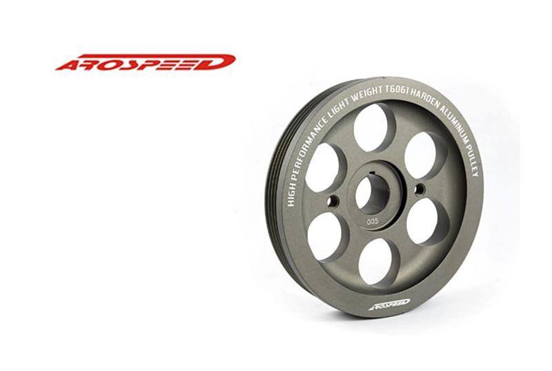 AROSPEED HARDEN LIGHTEN ALUMINIUM CRANK PULLEY TOYOTA AVANZA 1.3