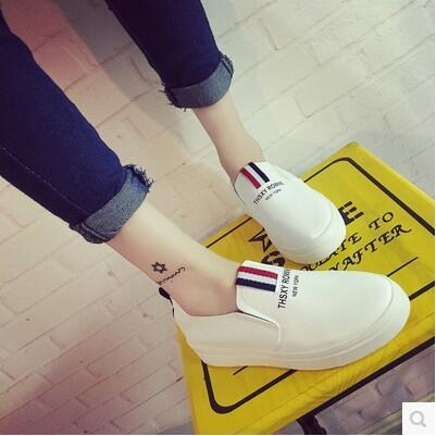 New arrival breathable casual wild-clothing Korea version white shoe
