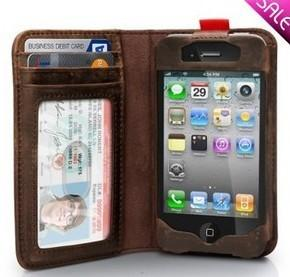 NEW Arrival~HOT*TwelveSouth Bookbook  Leather Case for Iphone 4 4s