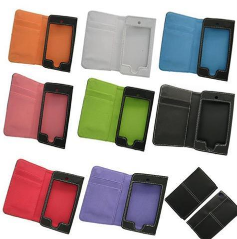 **NEW Arrival iphone 4 Leather Wallet Case ( 2 in 1) for SALES..