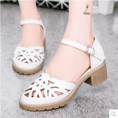New arrival Korea arrival wild-clothing hollow casual sandal