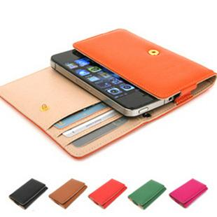 NEW Arrival Korea Design Iphone 4 4S Case / Card holder 2in1 use