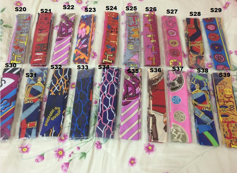 New Arrival Twilly Scaft for Handbag Handle (per PAIRS)