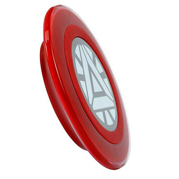 New Arrival - Wireless Charging Pad - Iron Man