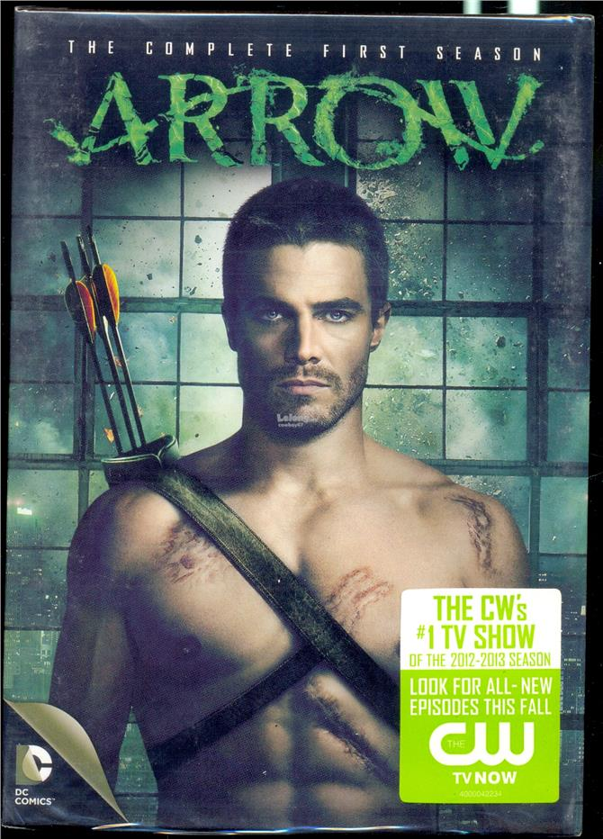 Arrow  The Complete First  Season - New DVD