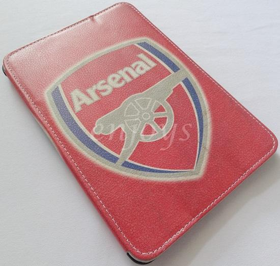 Arsenal Design Leather Pouch Case Cover Apple iPad mini 1 ~RED