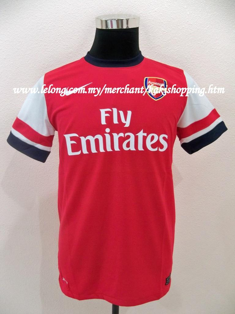 Arsenal FC Home 2012/2013 Jersey/Jersi- Size S,M & XL-Confirm Version