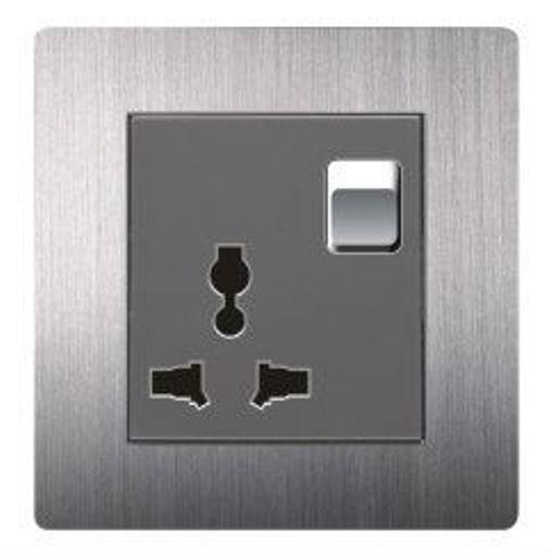 ARTDNA A69 Series 10A 1 Gang Switch and Universal Socket