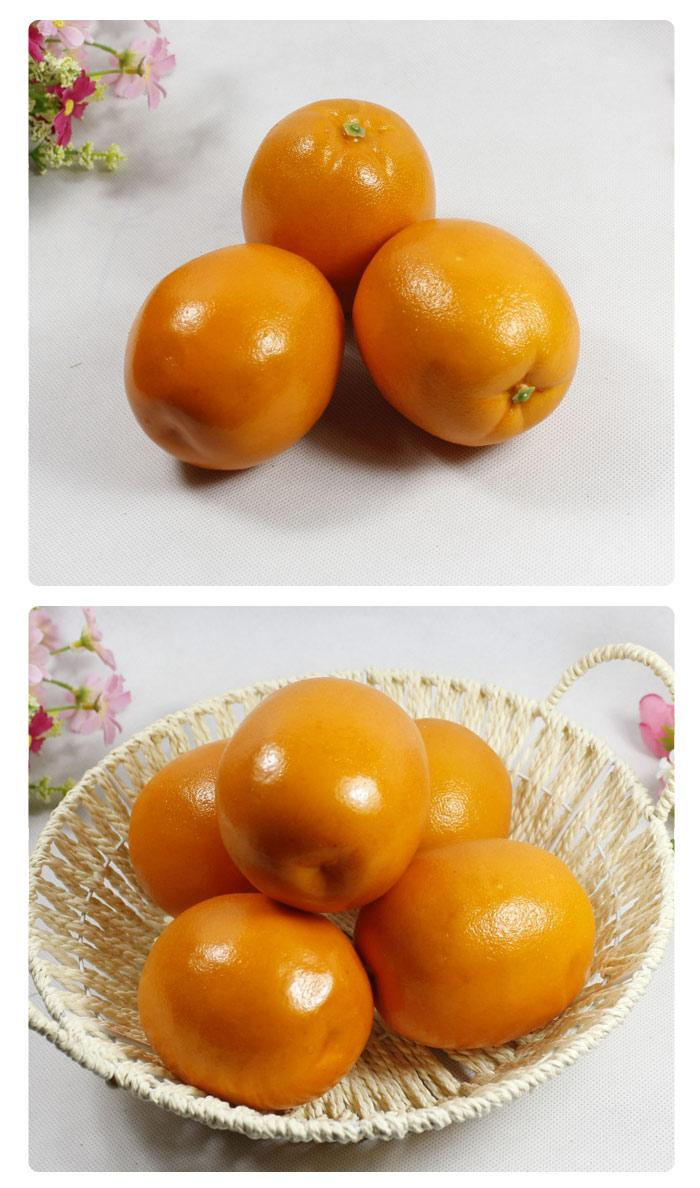 Artificial fruits orange for decor end 8 1 2017 12 00 am for Artificial fruit for decoration