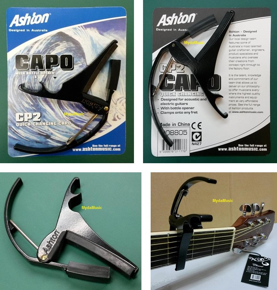 ASHTON Acoustic Electric Guitar Trigger Capo. Kapo Gitar