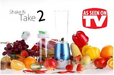 ASOTV LATEST 2014 Shake n Take 2 Juice Smoothie Blender !!