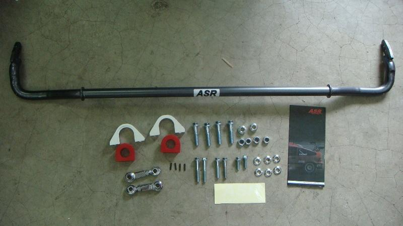 ASR anti roll bar civic EK/EG  24mm complete kit