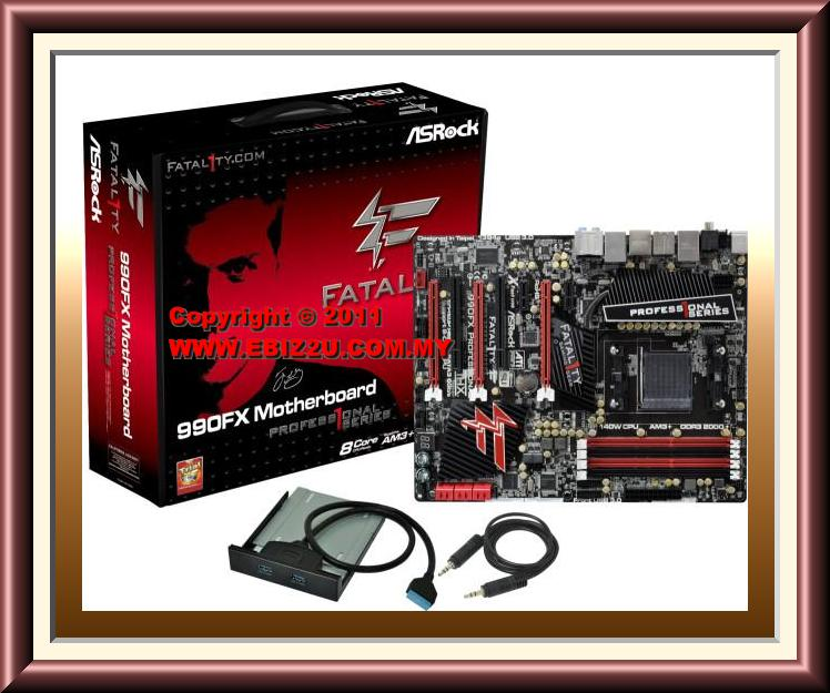 Asrock Fatal1ty 990FX Professional Motherboard For AMD