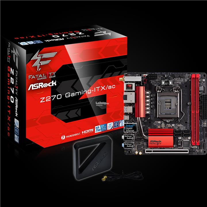 ASROCK Z270 Gaming-ITX/AC SOCKET 1151 MAINBOARD