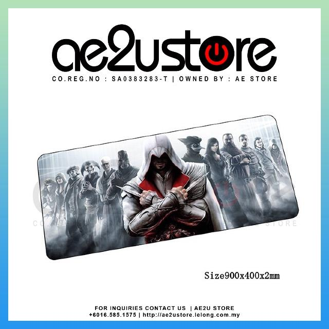 ASSASSINS CREED MOUSEPAD OVERSIZED (P008)