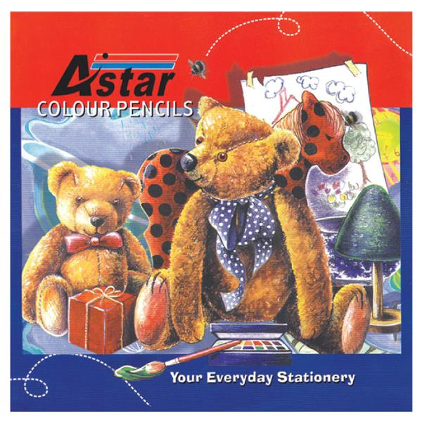 Astar CP-102 24's Color Pencil (Long)