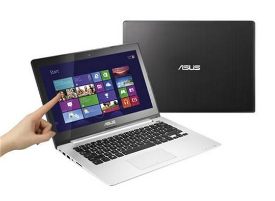Asus 13.3� S300CA-C1050H Touch Screen VivoBook � Intel i3/500GB/WIN 8