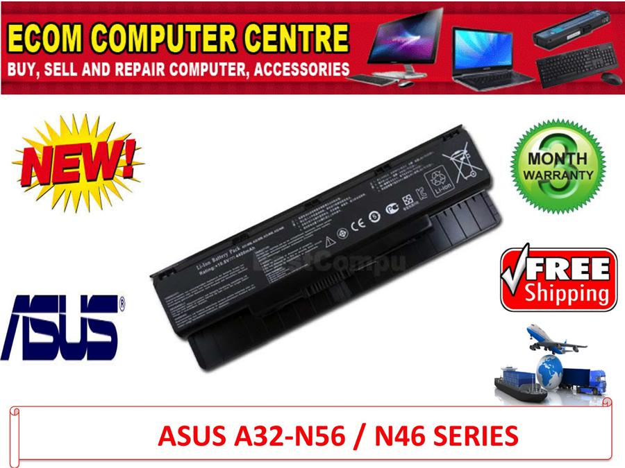 ASUS A31-N56 / A32-N46 SERIES LAPTOP BATTERY