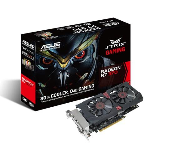 ASUS AMD GRAPHICS CARD ( STRIX-R7370-DC2OC-2GD5-GAMING )