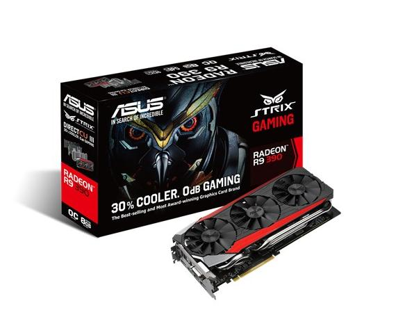 ASUS AMD GRAPHICS CARD ( STRIX-R9390-DC3OC-8GD5-GAMING )