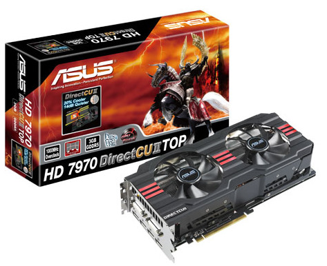 Asus ATI HD7970 DC2 1GB DDR5 384bit PCI-E Graphic Card