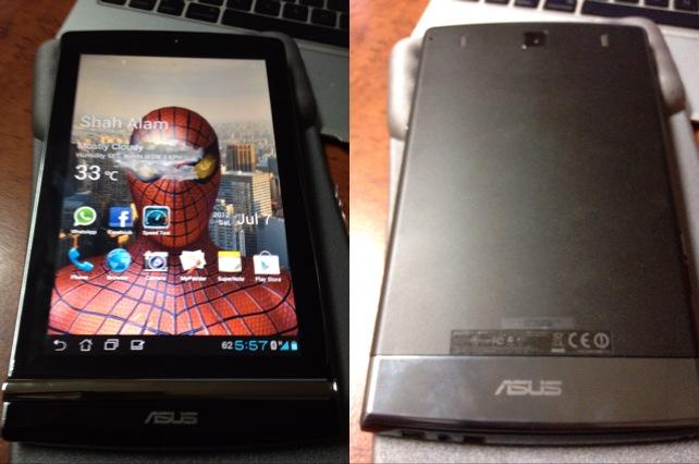 Asus eee Pad memo 171 -7' Tablet and A Bluetooth Phone-Original Asus M'..