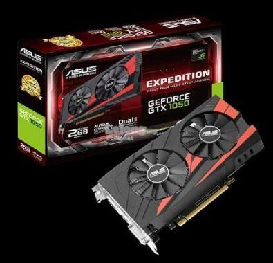 ASUS EXPEDITION NVIDIA GTX1050  2GB GDDR5 128BIT (EX-GTX1050-O2G)