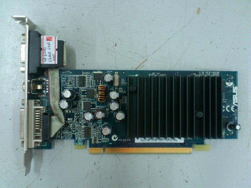 Asus GeForce 6200 64MB DDR PCI-E Graphic Card 301215