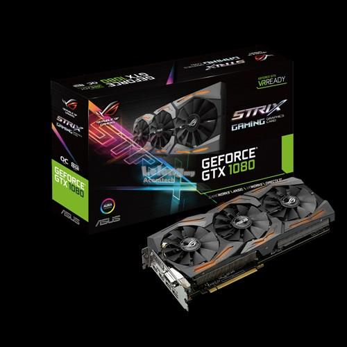 ASUS GEFORCE GTX 1080 STRIX OC 8GB GDDR5X (STRIX-GTX1080-O8G-GAMING)