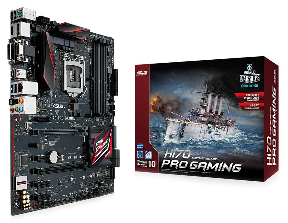 ASUS H170-PRO GAMING INTEL LGA1151 MAINBOARD