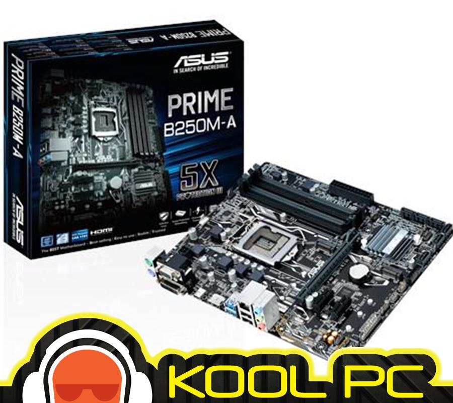 # ASUS PRIME B250M-A 7th/ 6th Gen Intel® CPU Socket 1151