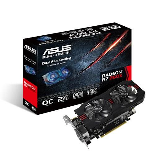 # ASUS Redeon R7260X-OC-2GD5 PCIE Graphics Card