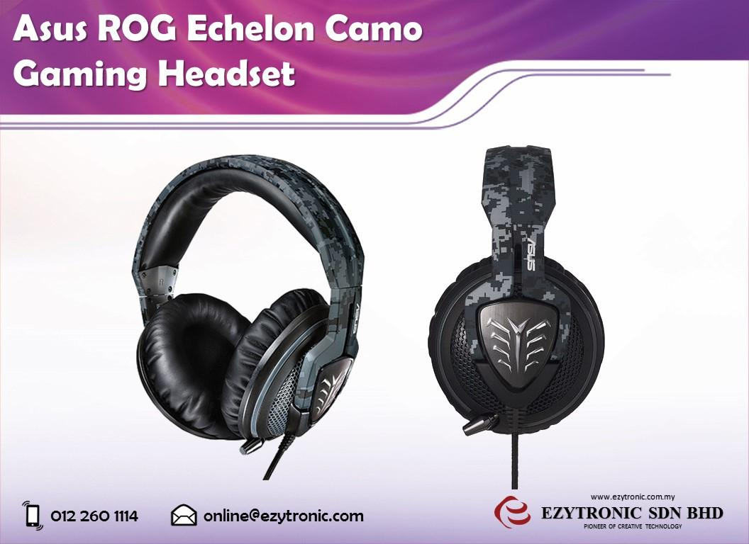 Asus ROG Echelon Camo Gaming Headset