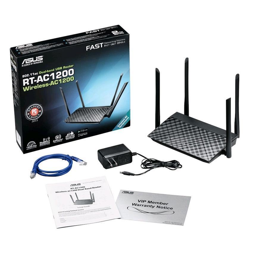 Asus RT-AC1200HP Dual Band Wireless AC1200 Router