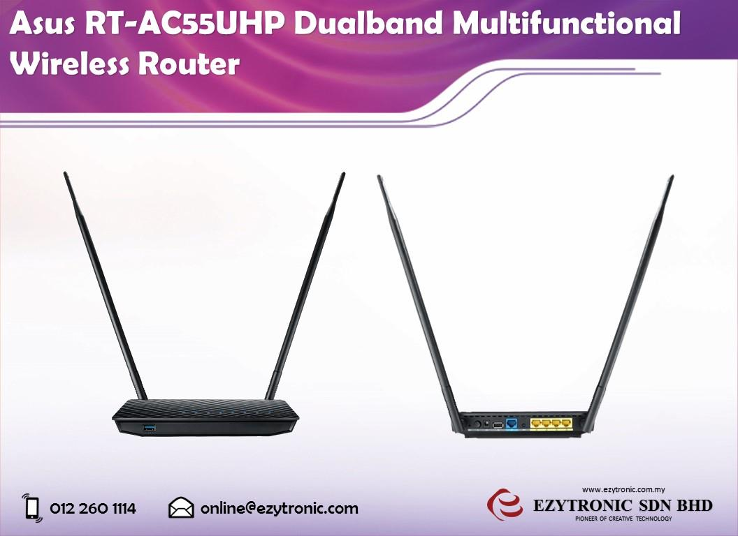 Asus RT-AC55UHP Dualband Multifunctional Wireless Router