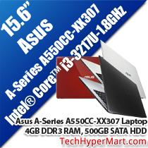 ASUS A-SERIES A550CC-XX307 15.6' LAPTOP/ NOTEBOOK