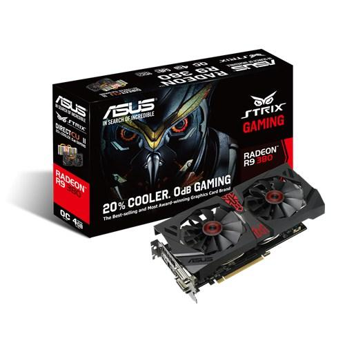 ASUS STRIX-R9380-DC2OC-4GD5-GAMING ASUS STRIX R9 380