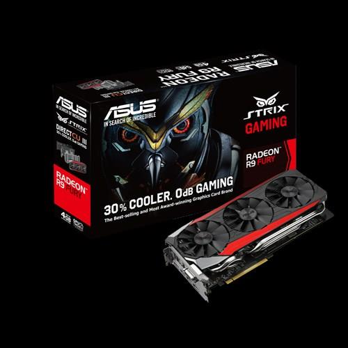 ASUS STRIX-R9FURY-DC3-4G-GAMING ASUS STRIX R9 Fury