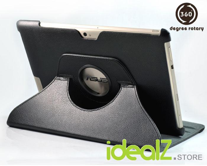 ASUS Transformer Prime TF201 360˚ Rotation Leather Case/Cover (Black)