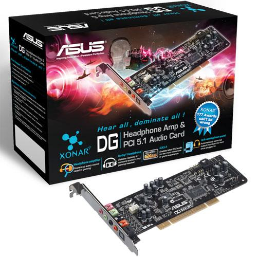 # ASUS Xonar DG PCI Sound-Card (Dolby 5.1) #