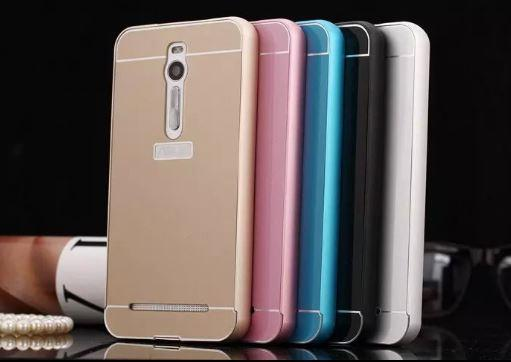 Case Design phone case with your picture : ASUS ZENFONE 2 ZE550ML ZE551ML SLIM Metal Bumper with Back Case