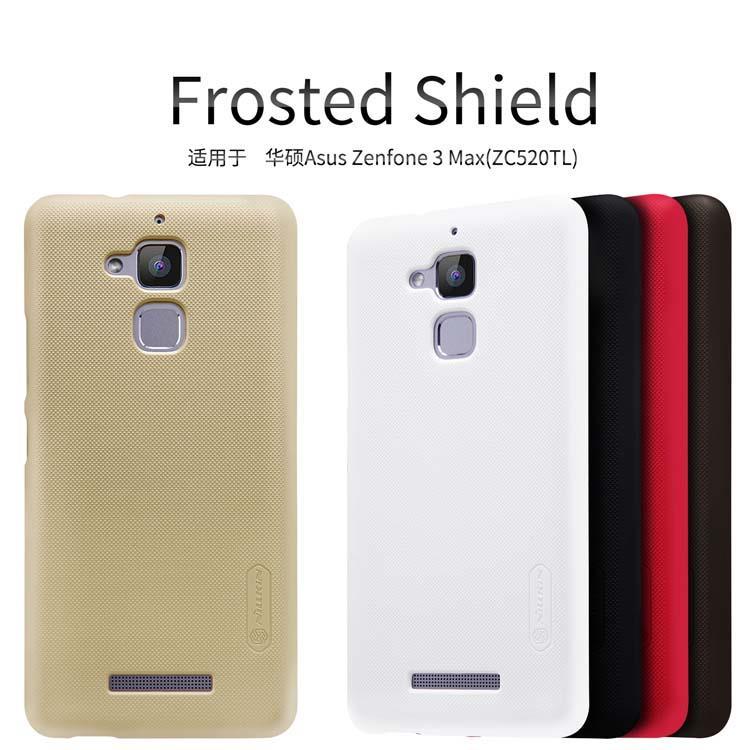 Asus Zenfone 3 Max ZC520TL Nillkin Frosted Shield Case Cover Free SP