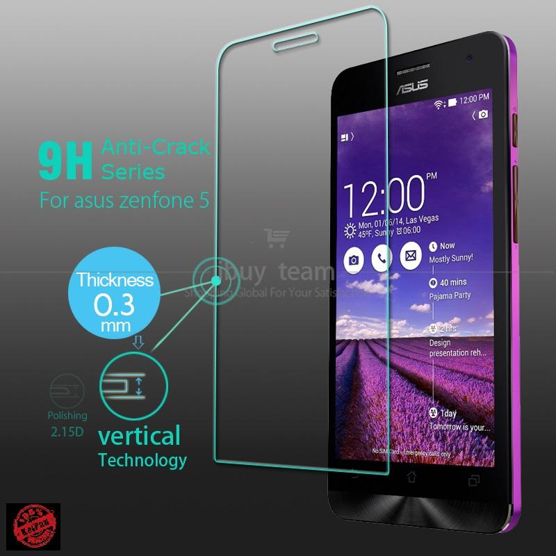 Asus Zenfone 4 Screen Protector Tempered Glass 0.33mm Round Edge 2.5D