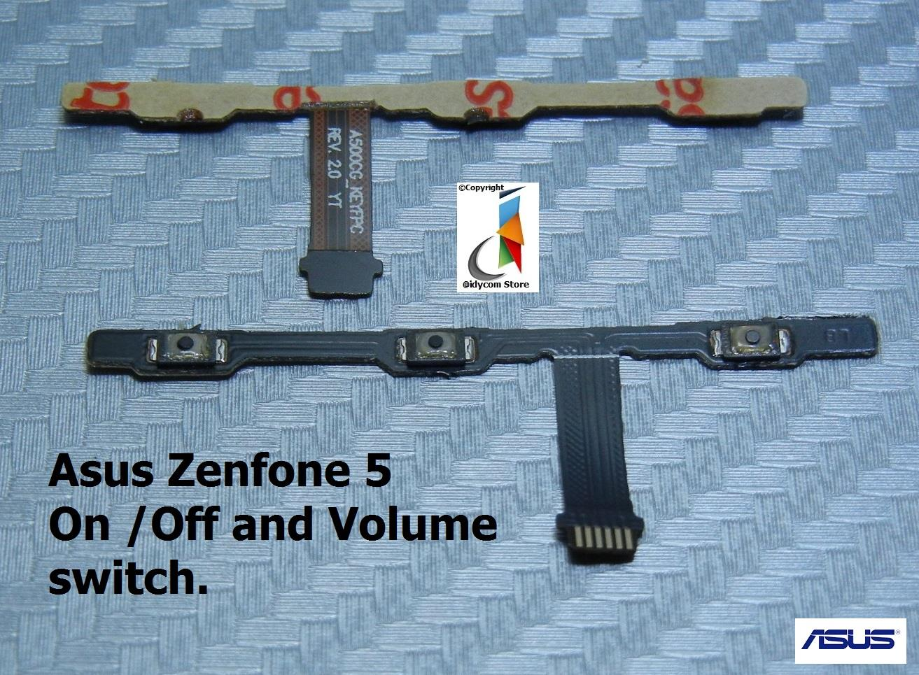 Asus Zenfone 5 Volume Flex Cable & Power Switch ON OFF Button.