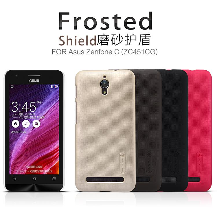 Asus Zenfone C ZC451CG Nillkin Super Frosted Shield Cover Sand Case